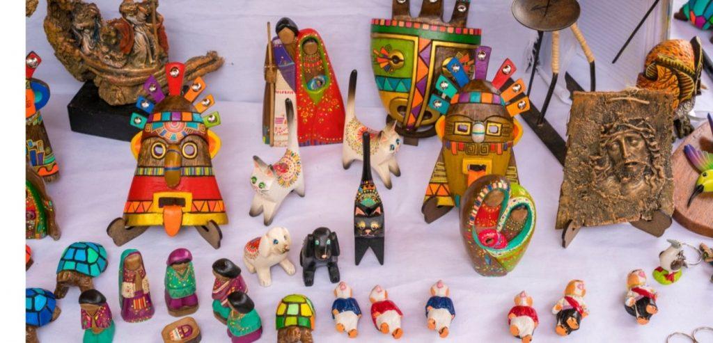 Artesanías de la Ciudad de Otavalo
